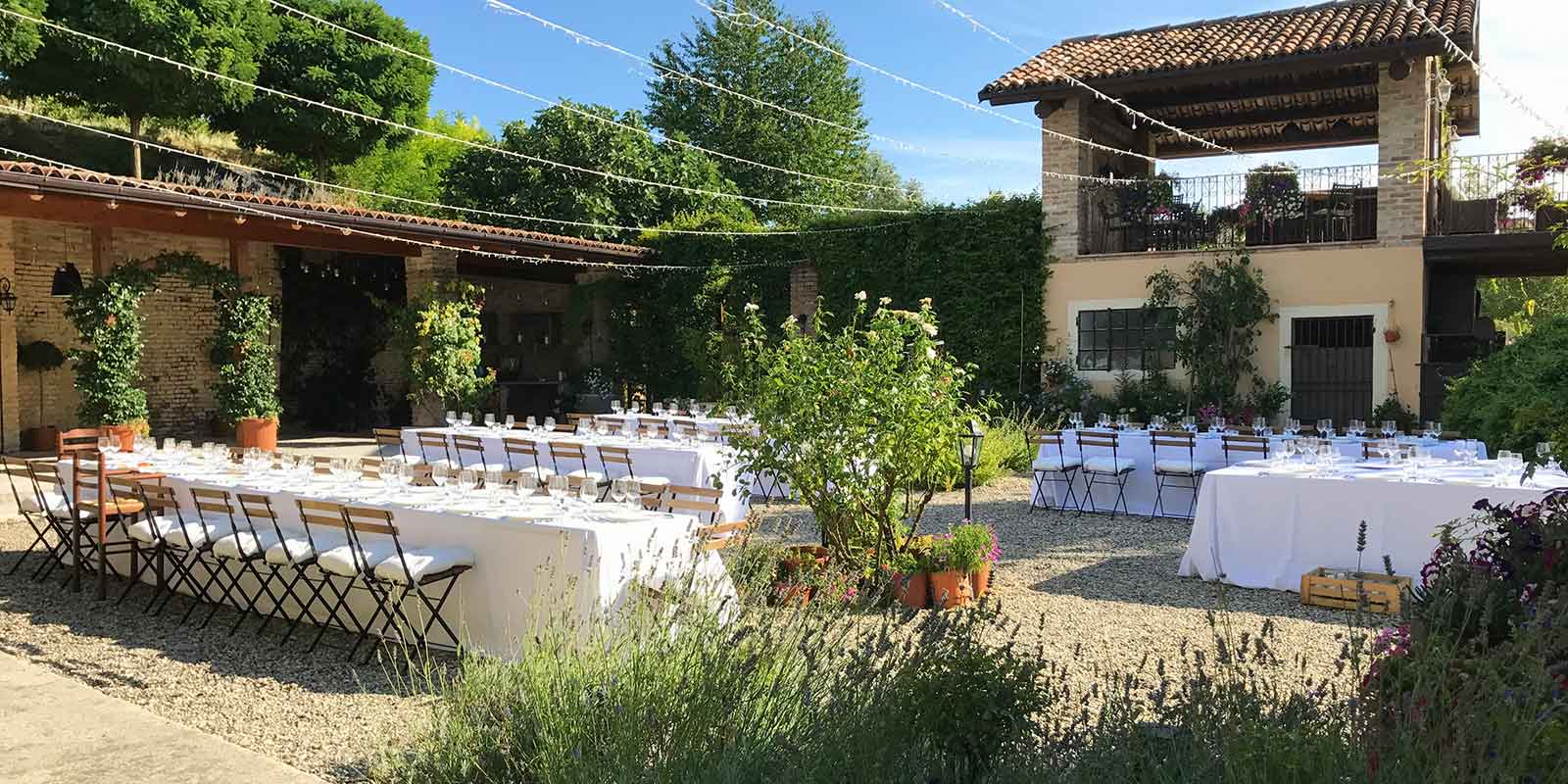 Hochzeitslocation im Piemont