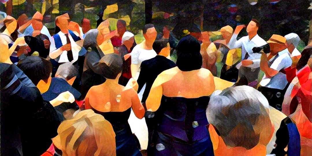 Bild: Hochzeit im Grünen, im Freien